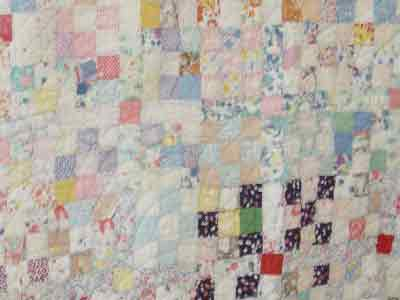 Picture of 1930's quilt